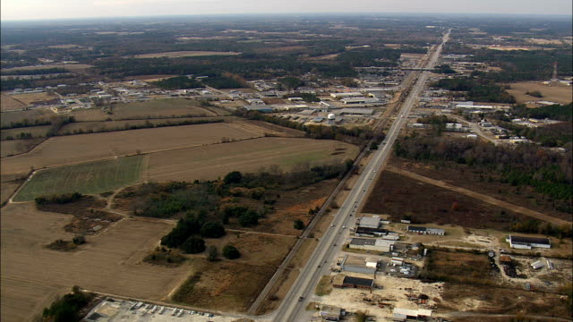 Route 95 Junction  - Aerial View - South Carolina,  Florence County,  United States