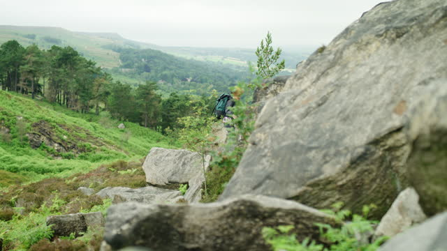 routine ends where adventure begins - boulder rock stock videos & royalty-free footage