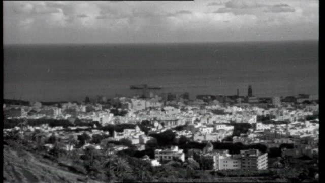 Canary Islands SPAIN Canary Islands Tenerife La Laguna EXT La Laguna skyline and street scenes