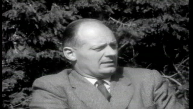 irish republic 1961; president of the national farmer association interview sot - talks about agriculture and how things are moving forward /... - pros and cons stock videos & royalty-free footage