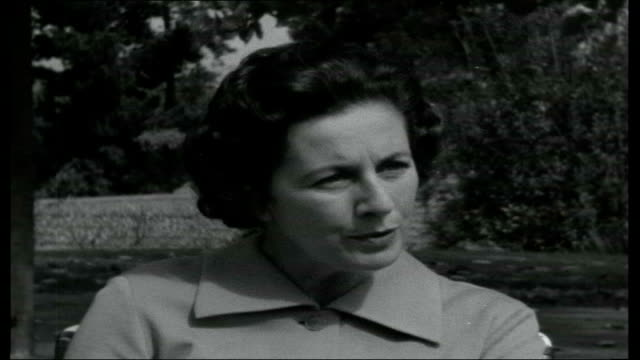 The Gulf Between Helen Suzman along next ITN reporter Helen Suzman interview SOT On the rift between the two language groups widening because of the...