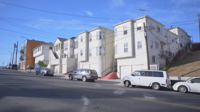 Row of Apartments in East Los Angeles - Day