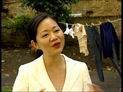 row over chinese textile imports continues; england london ext dr linda yueh interview sot - there's been a range of issues that the eu and china are... - big tech stock videos & royalty-free footage