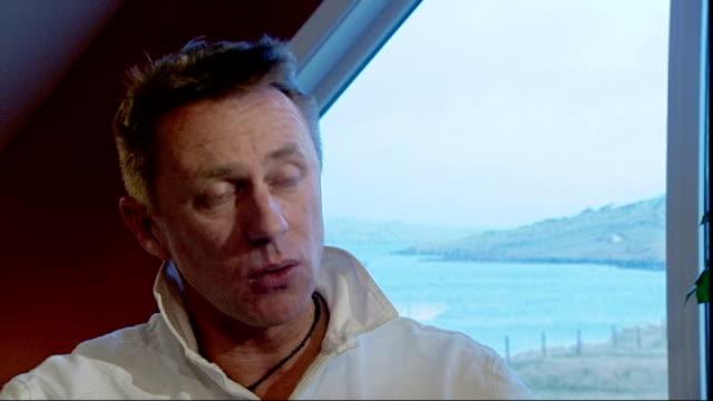 row over labelling of organicallyfarmed cod scotland shetland int karol rzepkowski interview sot on 'no catch' fish - catch of fish stock videos & royalty-free footage