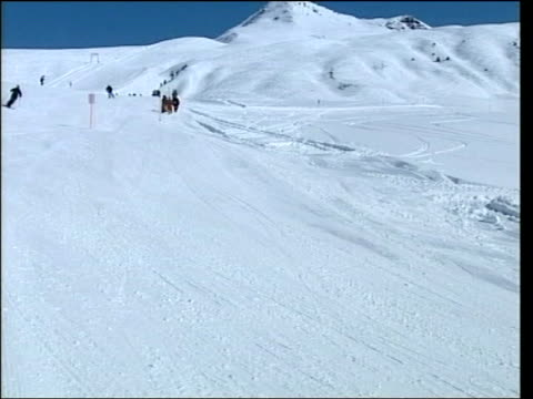 Row over Prince William photographs LIB Klosters Prince William skiing towards PAN as passes close to camera MS Prince Charles and Prince William...