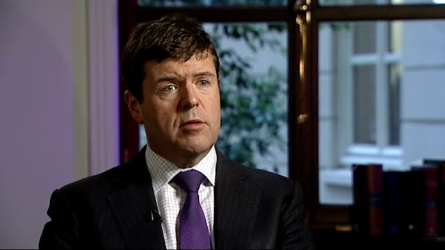 row over winter fuel payments for well off pensioners paul burstow mp interview sot baroness bakewell sitting at table looking at newspaper clipping... - newspaper clipping stock videos and b-roll footage