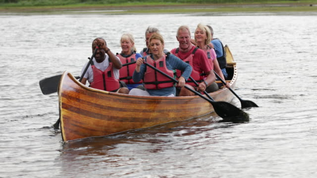 row row row your boat - team sport stock videos & royalty-free footage
