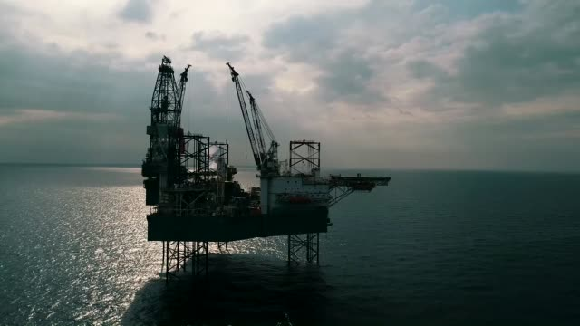 rowan norway drilling rig operates in the mediterranean sea off the coast of mersin in southern turkey on november 26 2018 - mediterranean turkey stock videos and b-roll footage