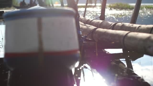 stockvideo's en b-roll-footage met rowboat / bali, indonesia - voor anker gaan