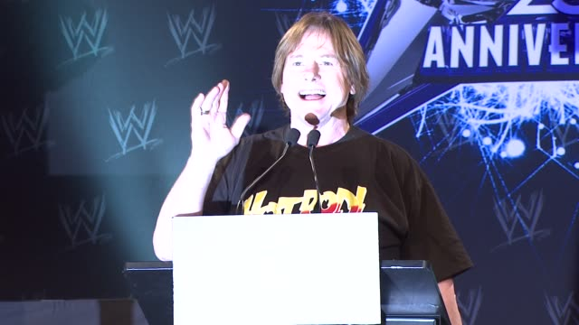 'Rowdy' Roddy Piper on old school at the WrestleMania 25th Anniversary Press Conference at New York NY