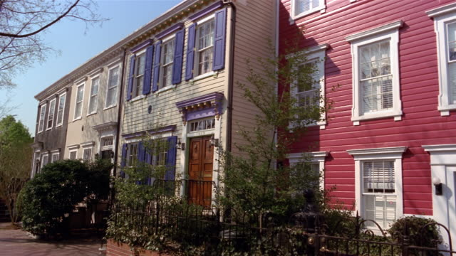 Rowhouses in Georgetown, Washington, DC