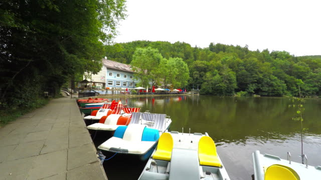 Rowing Boats on Lake Thal