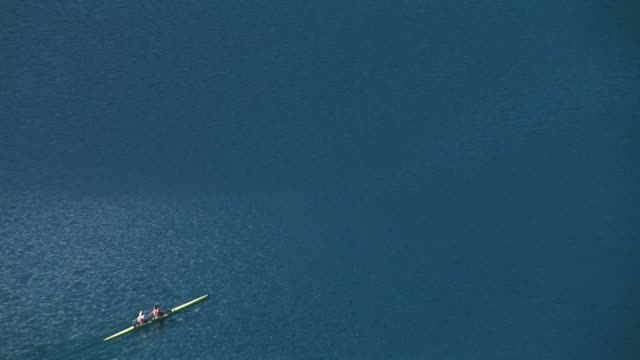 hd: rowing - lake bled stock videos & royalty-free footage
