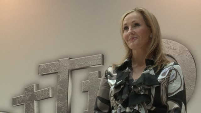 jk rowling the british author of the best selling harry potter books was forced to reveal on sunday that she had published a critically acclaimed... - j.k. rowling stock videos and b-roll footage