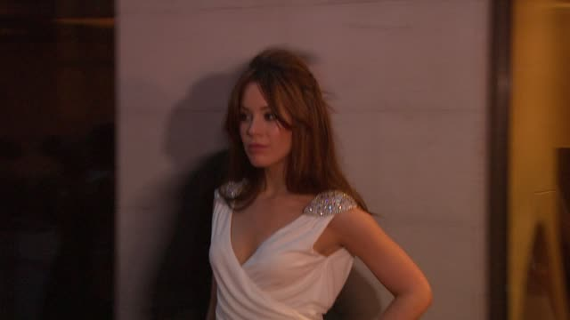 Roxanne McGee at the Laurence Olivier Awards 2009 at London