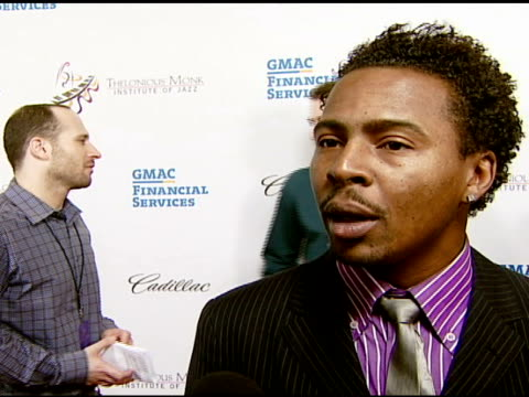 roy hargrove on herbie hancock, the tribute, and the competition at the the thelonious monk institute of jazz and the recording academy® los angeles... - herbie hancock stock-videos und b-roll-filmmaterial