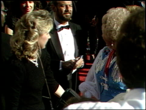 vidéos et rushes de roy rogers at the 1989 academy awards at the shrine auditorium in los angeles, california on march 29, 1989. - 61e cérémonie des oscars