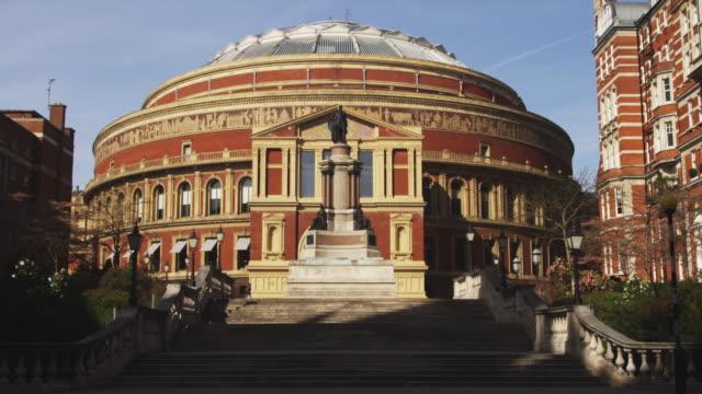 ws royal albert hall, london, united kingdom - royal albert hall stock videos & royalty-free footage