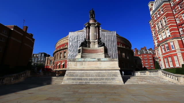 royal albert - royal albert hall stock videos and b-roll footage