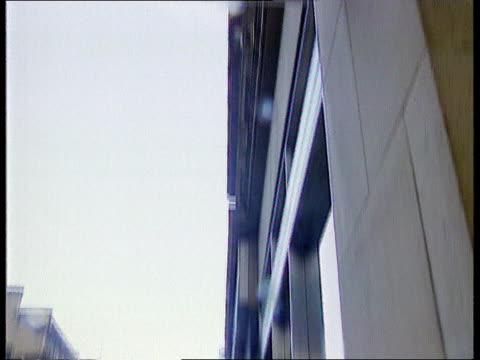royal bank of scotland redundancies; royal bank of scotland redundancies; scotland: glasgow itn front entrance to branch of royal bank of scotland in... - banking sign stock videos & royalty-free footage
