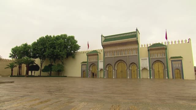 royal castle in fez - palace stock videos & royalty-free footage