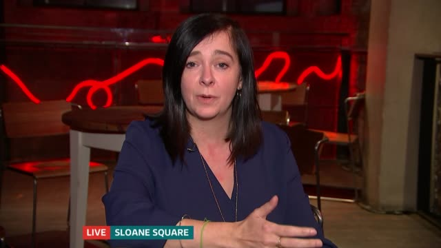 Royal Court Theatre to host two events to confront 'abuses of power' in industry ENGLAND London GIR INT Vicky Featherstone LIVE 2WAY interview from...