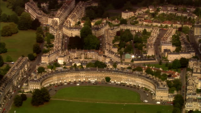 AERIAL, Royal Crescent, Bath, Sommerset, England