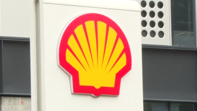 royal dutch shell said thursday that profit after taxation almost tripled to just under $13 billion in 2017 energised by rising oil and gas prices - making money stock videos & royalty-free footage