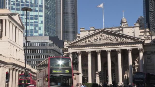 Royal Exchange and the Bank of England