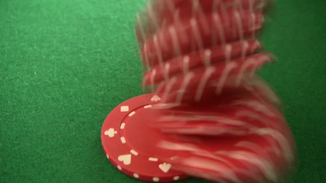 royal flush - gambling chip stock videos & royalty-free footage