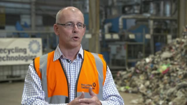 royal mail asks people not to post walkers crisp packets; swindon, uk; recycling technologies plant gvs and interview. england wiltshire: swindon:... - packaging stock videos & royalty-free footage
