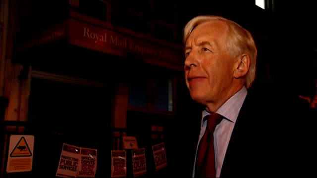 Royal Mail postal workers to hold more days of strikes London Mount Pleasant Richard Hooper interview SOT
