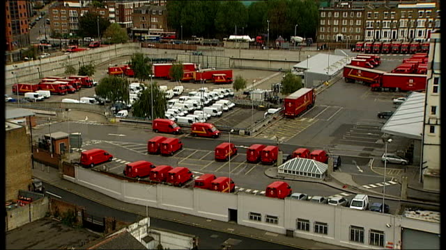Royal Mail postal workers to hold more days of strikes T15100939 High angle view of Mount Pleasant Sorting Office