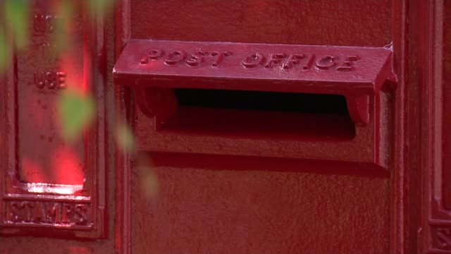 Royal Mail to launch maintenance programme for postboxes Location unknown Various of post box standing amongst bushes Warrington Reporter and Andrew...