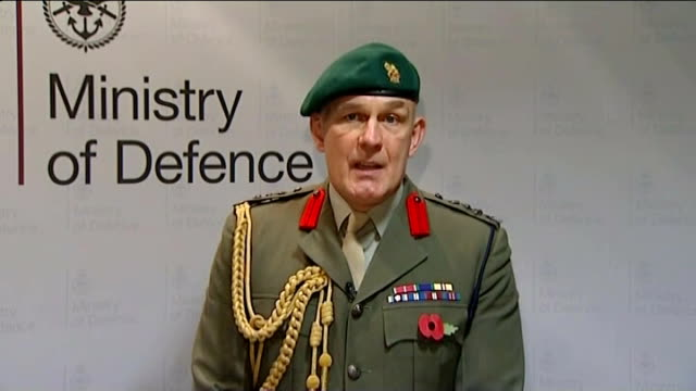 royal marine found guilty of murdering afghan prisoner; england: london: int brigadier bill dunham press conference / statement sot - what we have... - last stock videos & royalty-free footage