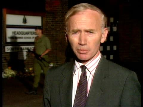 Royal Marines Barracks bomb explosion NAT Deal Intvw Lt Gen Sir Martin Garrod CommandantGeneral Royal Marines TO