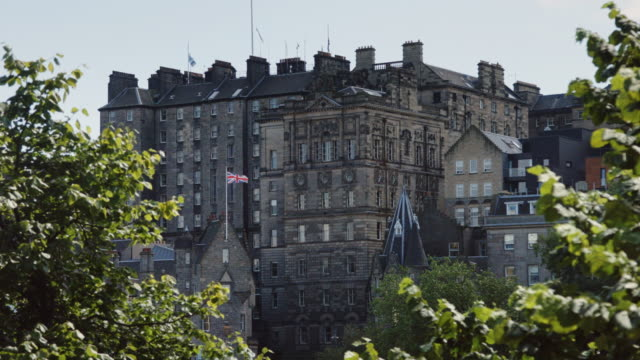 royal mile from below - royal mile stock videos and b-roll footage