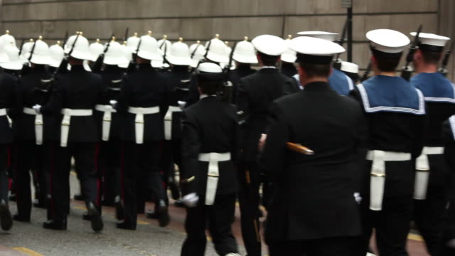 Royal Navy in March / Parade - HD & PAL
