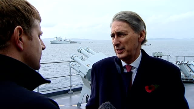 royal navy military exercise 'exercise corsican lion' philip hammond arrival and interview philip hammond mp interview sot on two soldiers killed in... - military exercise stock videos and b-roll footage