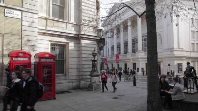 Royal Opera House & Telephone Boxes, London, England, UK, Europe