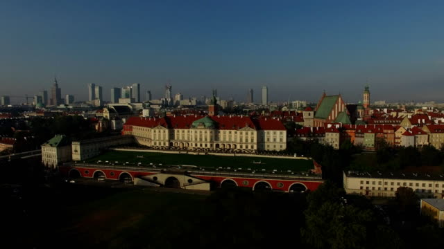 royal palace in warsaw, poland - warsaw stock videos & royalty-free footage
