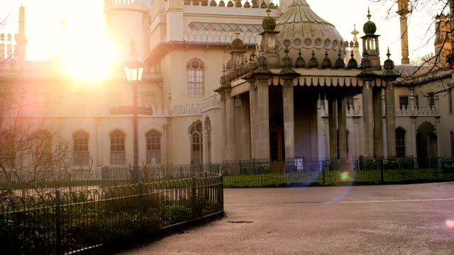 royal pavilion und museum - brighton brighton and hove stock-videos und b-roll-filmmaterial