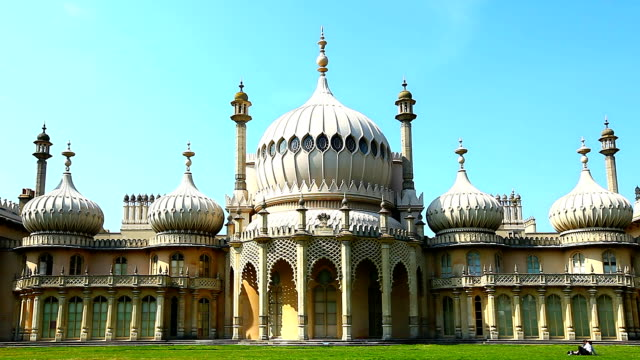 royal pavilion - pavilion video stock e b–roll