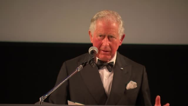 Royal Princes attend 'Our Planet' premiere at Natural History Museum arrivals and speeches UK London Premiere of Sir David Attenborough 'Our Planet'...