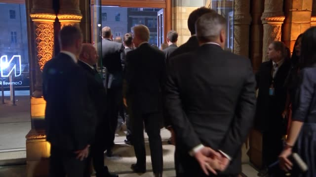 Royal Princes attend 'Our Planet' premiere at Natural History Museum departures ENGLAND London Natural History Museum 'Our Planet' premiere INT...