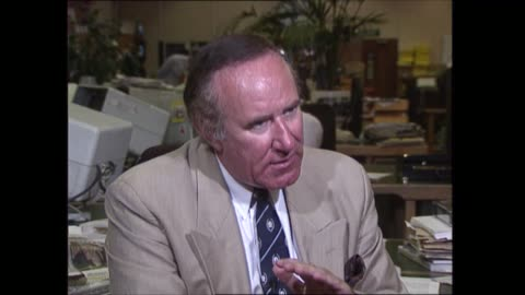 'diana: end of a fairytale?'; england: int andrew neil interview sof - andrew neil stock videos & royalty-free footage