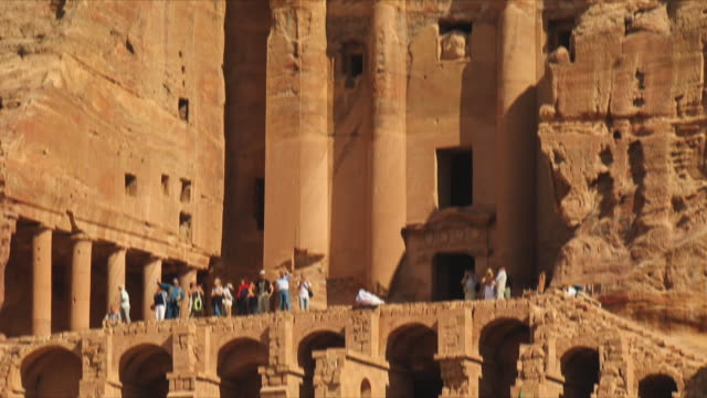 MS TU Royal Tombs, Urn Tomb at ancient city of Petra / Jordan