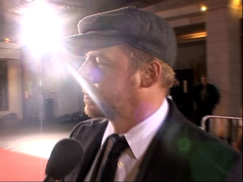 red carpet arrivals simon pegg arriving posing for photocall / simon pegg interview sot on possibly voicing character in tin tin / currently writing... - nick frost actor stock videos & royalty-free footage