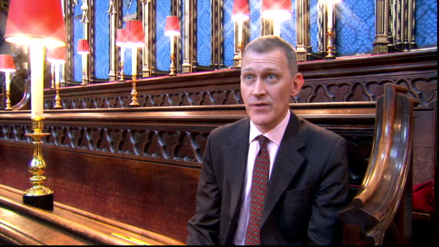 choir prepares for the big day; james o'donnell interview sot - talks of keeping music for the service under wraps - choir stock videos & royalty-free footage