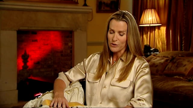 india hicks interview on her memories of the 1981 royal wedding england london int india hicks interview sot india showing her bridesmaid dress for... - bridesmaid stock videos and b-roll footage